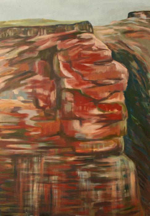 Falaise I, 2017 Acryl auf Leinwand 116x80