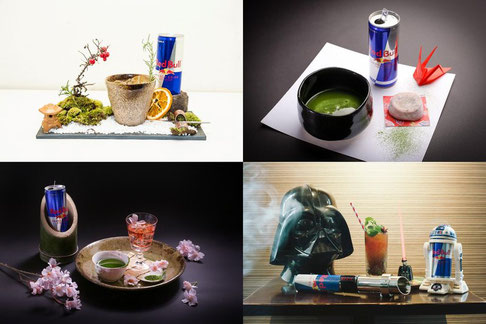 Cocktails with Red Bull