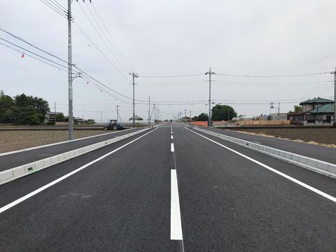 今泉泉川線 道路改良工事