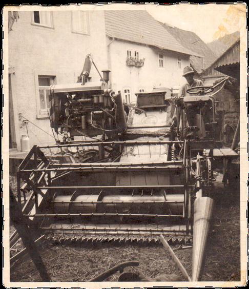 Then-Landwirtschaft Geschichte
