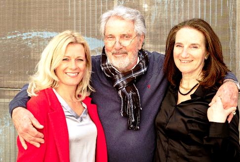 Renate Linortner, Franz Robert Wagner, Mariagrazia Pistan-Zand, Foto: © Andreas Jakwerth