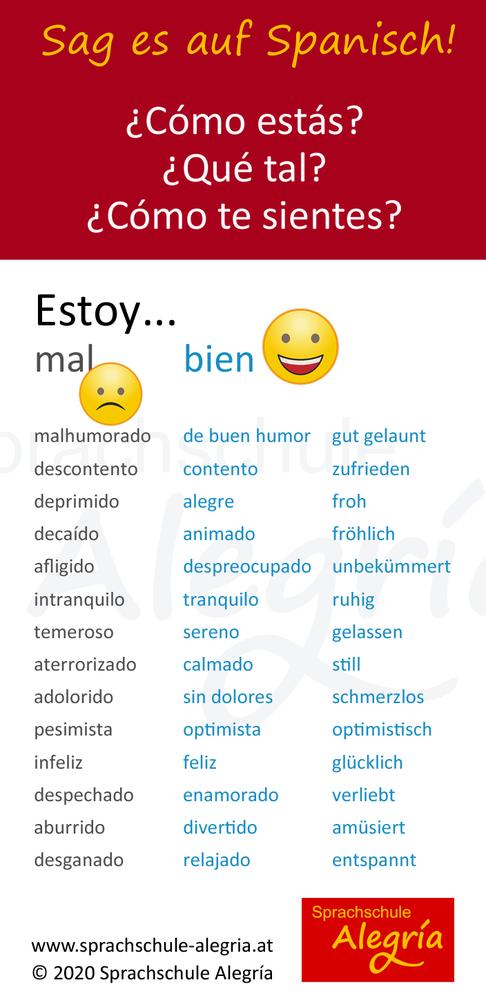 28 Möglichkeiten, auf Spanisch zu sagen, wie es dir geht
