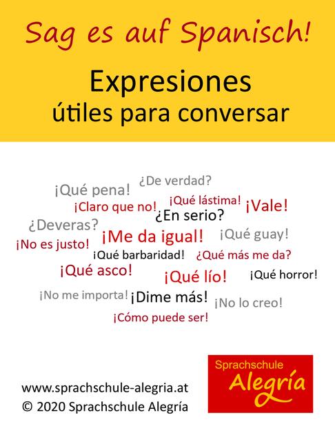 20 spanische Ausdrücke für Gespräche und Konversationen