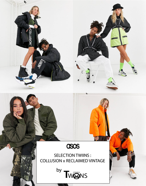 asos, selection twins, selection twiins, collusion, reclaimed vintage, original twins, original twiins, swaguy paris, mode, guy houangné, guy houangne, swag, swaguy, fashion, digital, influencer