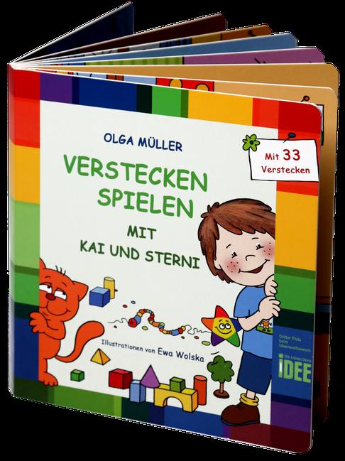 Verstecken Spielen mit Kai und Sterni - Buch