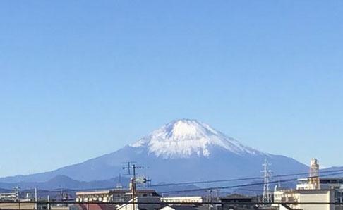 2021年1月1日 富士山