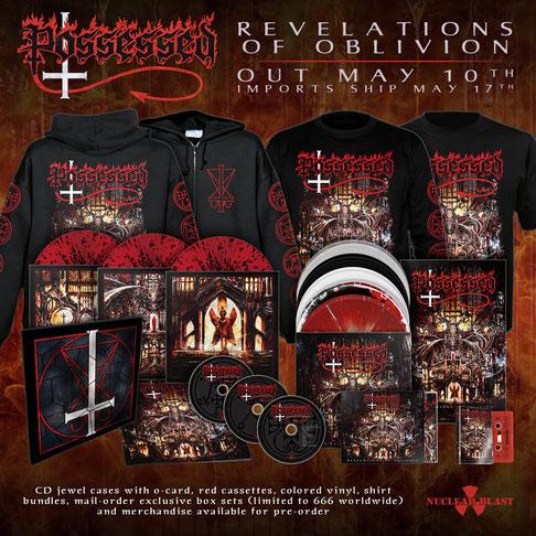 """""""Revelations Of Oblivion"""" - Variationen"""