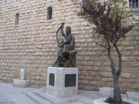 King David's statue - the gift from Russia