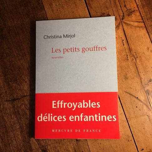 Couverture Les petits gouffres de Christina Mirjol