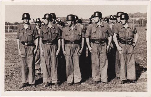 Foto: Erste Bewerbsgruppe um 1950