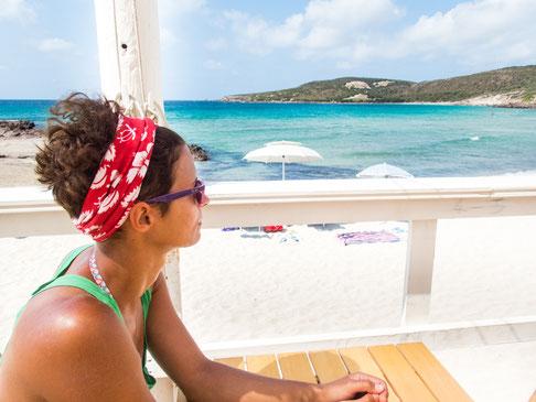 """Entspannen am Strand von """"Caletta"""""""