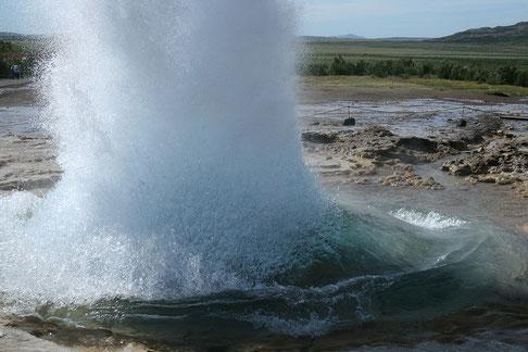 Abb. Kaltwassergeysir bei Andernach