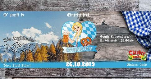 Plakat Oktoberfestl 2019