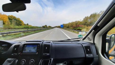 Stürmische Heimfahrt nach Soest