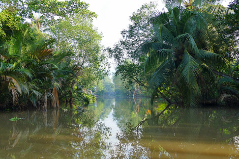 In Can Tho ist man umgeben von Wasser
