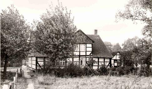 Haus Entenfang um 1950. Foto: Archiv Wetterau