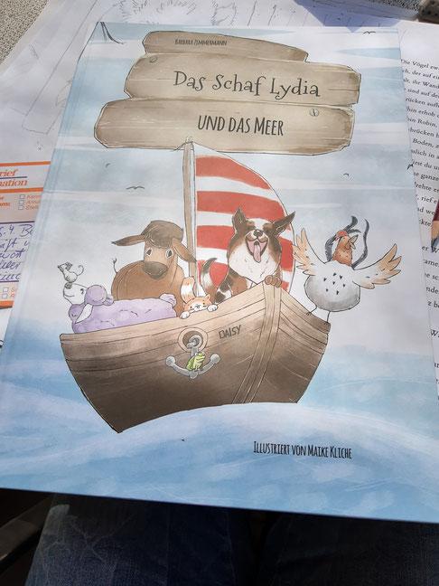 Maike Kliche Kinderbuchillustration
