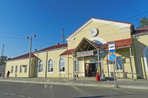 Bahnhof Apatity Nordrussland
