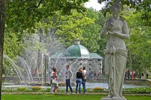 Unterer Park Schloss Peterhof