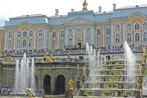 Schloss Peterhof Großer Palast