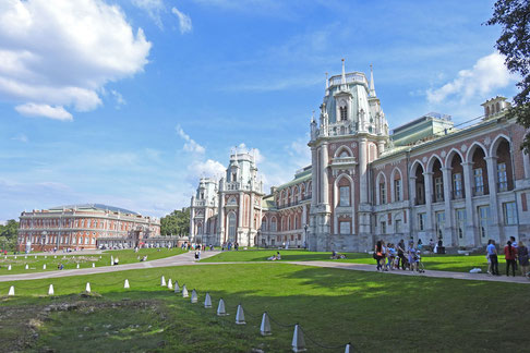 Schlossanlage Zarizyno in Moskau