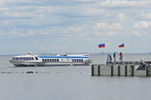 Meteor Ostsee Peterhof Petersburg