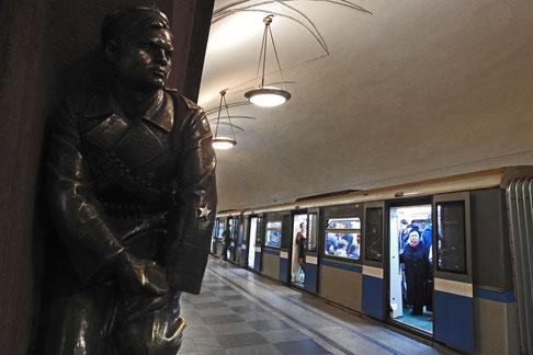 Metrostation Platz der Revolution