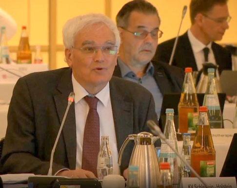 Dr. Andreas Bobrowski bei KBV-Vertreterversammlung am 12. Juni 2020 in Berlin