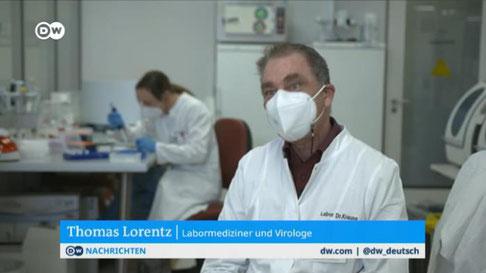 Screenshot dw.com - DW-TV, Auslandsfernsehen der Deutschen Welle