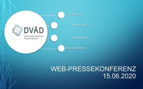 DVÄD WEB-PRESSEKONFERENZ 15.06.2020