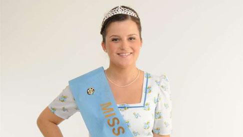 Wer beerbt Bernadette Deutschenbaur, die Miss Herbstfest 2015?