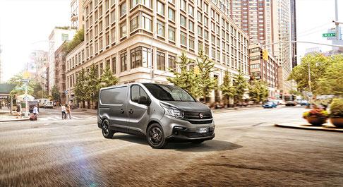 Der neue Fiat Talento Transporter - Ab sofort erhältlich im Strasser Transport und Business Center Rosenheim