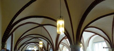 Deckengewölbe im Remter