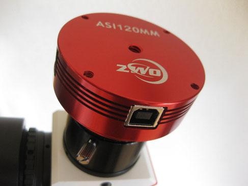 Kamera von ZWO  Typ: ASI120MM