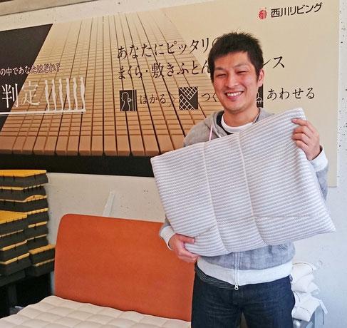オーダーメイド枕をご愛用 / スリープキューブ和多屋