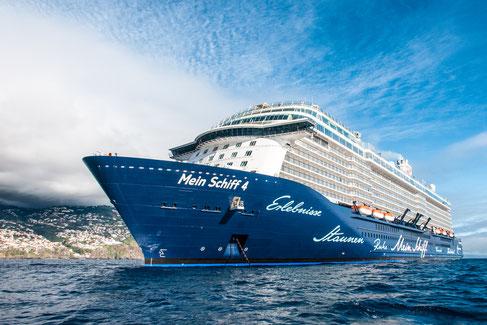 Reisen mit der Mein Schiff Flotte