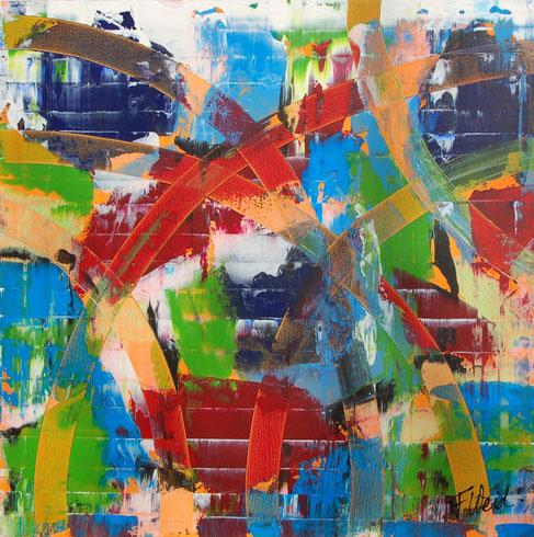 Abstrakte Malerei von Florina Weidmann
