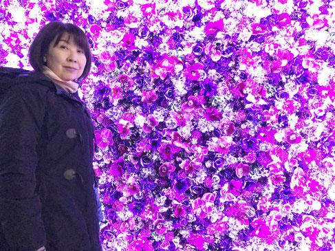 講習会の帰りに、東京駅で開催されていたプロジェクションマッピングを楽しみました。