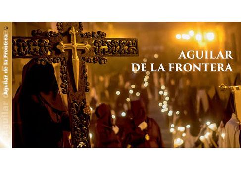 Programa y Procesiones de la Semana Santa de Aguilar de la Frontera
