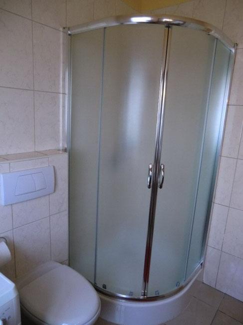 Dusche vom Bad