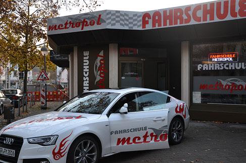 Fahrschule Metropol Fahrzeug Audi