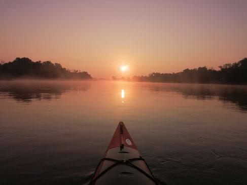 Mystische Morgendämmerung