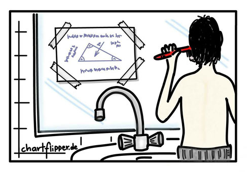 Nebenbei auswendiglernen - Wie und Wo - LernTipp #005 auf www.chartflipper.de