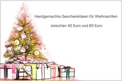 Exklusive Weihnachtsgeschenke bis 60 Euro