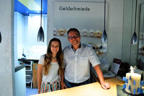 Herzlich Willkommen unserer Goldschmiede Lernenden Michelle Egeli