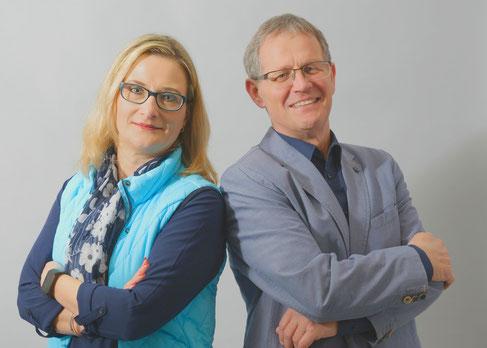 Katja Settmacher und Dieter Thara