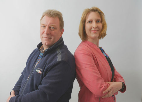 Hans-Jürgen Thurau und Birgit Payonk
