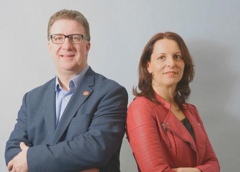 Carsten Fürst und Claudia Belitz-Hempel