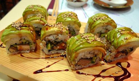 Tasca Japonesa Wakasa - где поесть суши в Барселоне