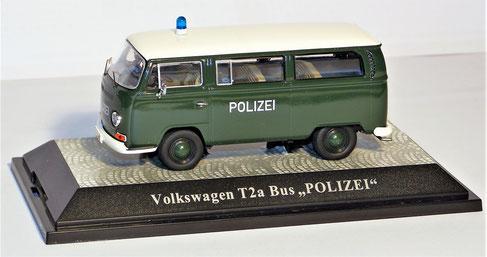 """Volkswagen T2a Bus """"Polizei""""Limited 500 Stück"""